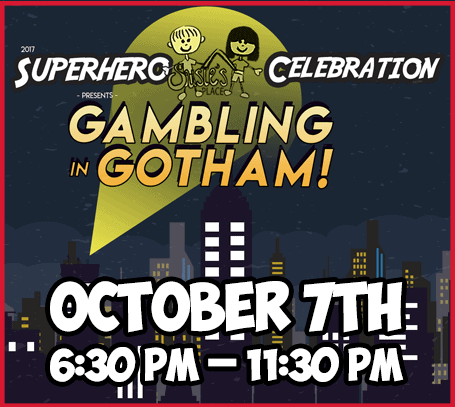 Gambling in Gotham - October 7th