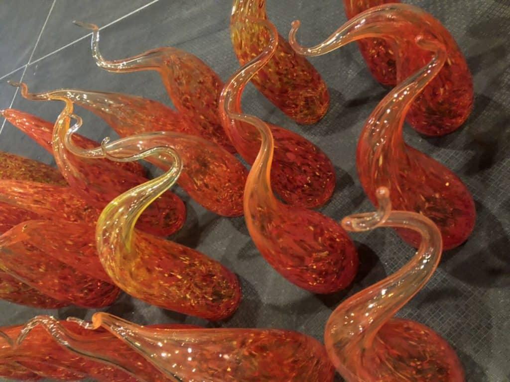Table Centerpiece Glasswork